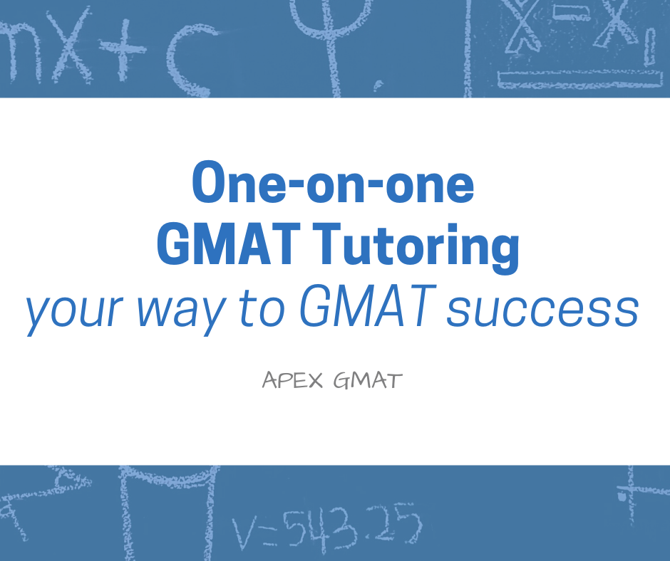 one one one gmat tutoring- why this prep option is the best