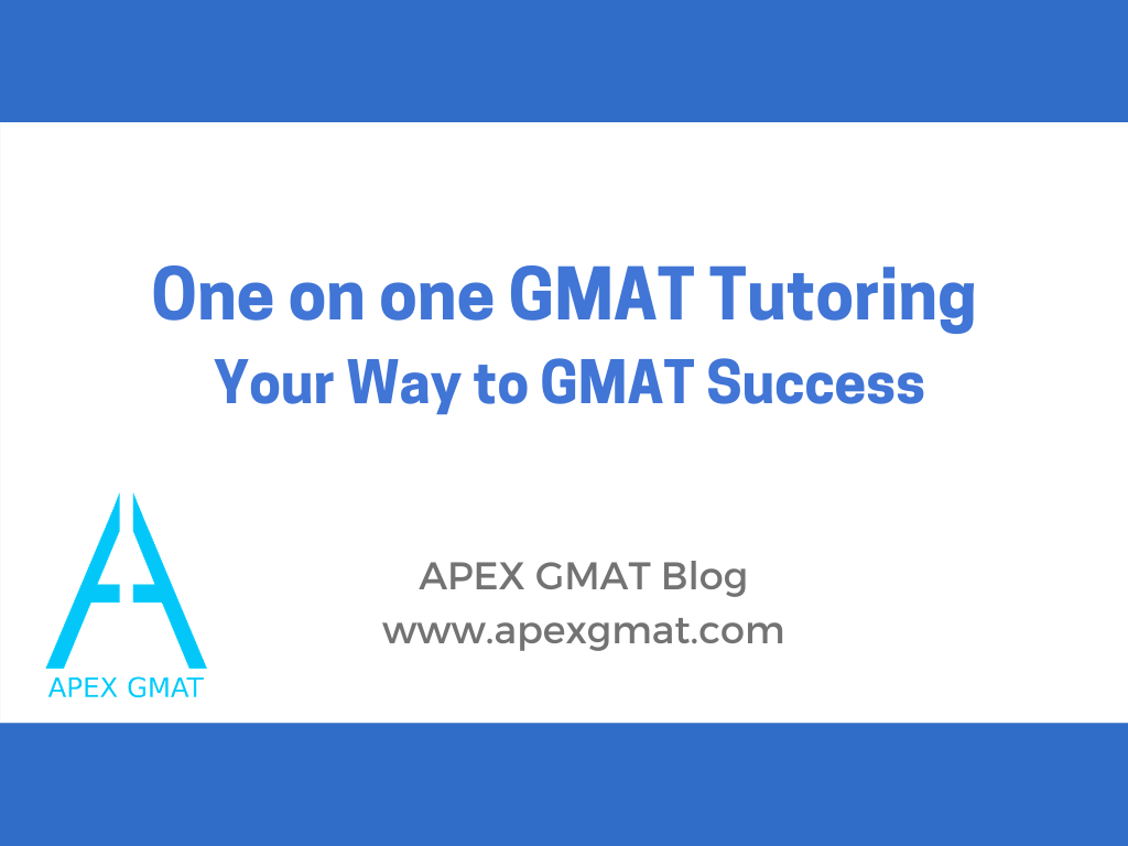 one on one gmat tutoring your way to gmat success