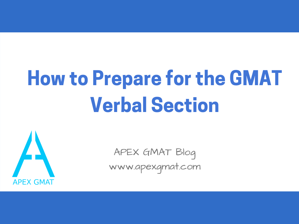 how to prepare for the gmat verbal section