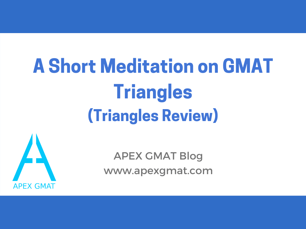 gmat triangle review