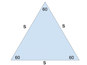 Equalateral triangles GMAT picture 2