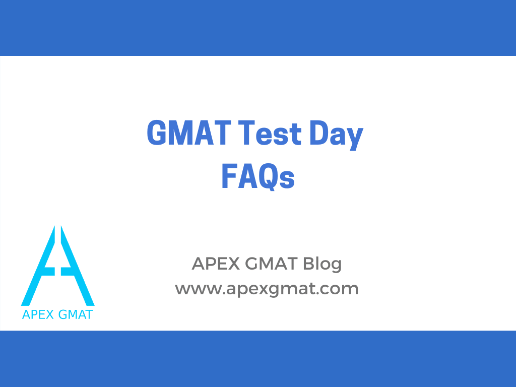 gmat test day faqs