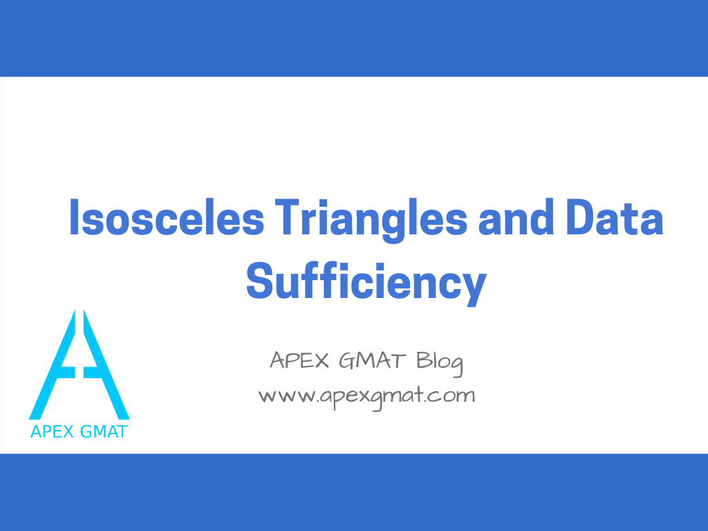 Isosceles Triangles and Data Sufficiency title