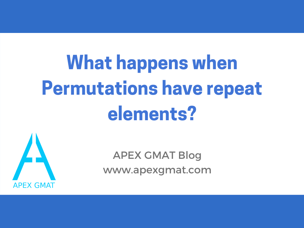 What happens when Permutations have repeat elements?