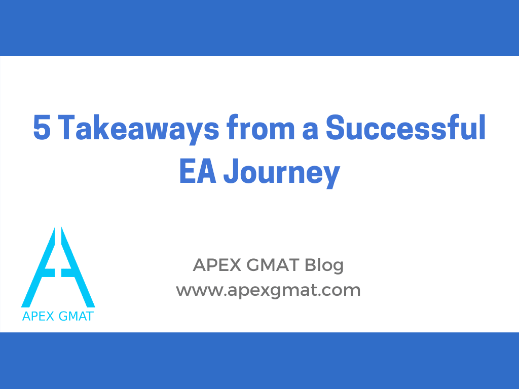 5 Takeaways from a Successful EA Journey