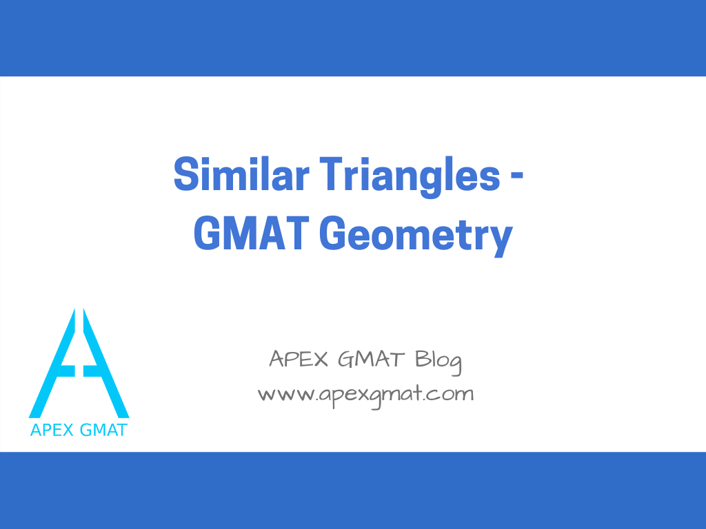 similar triangles on the gmat