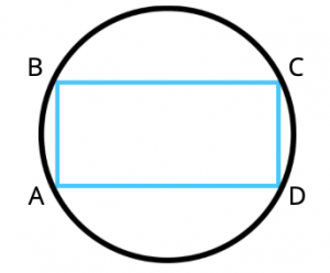 rectangle in circle, gmat geometry