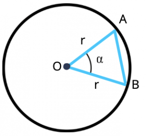 triangle in a circle, gmat geometry article