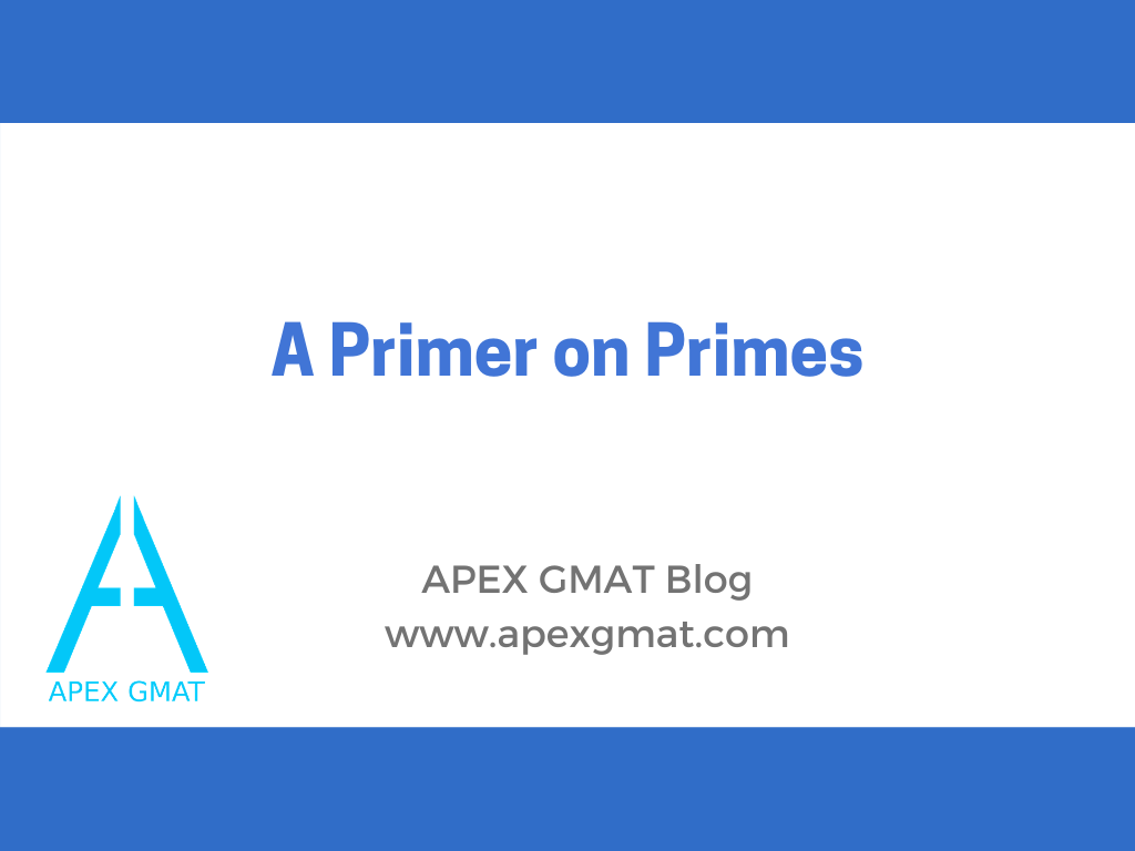 GMAT Prime numbers article with questions