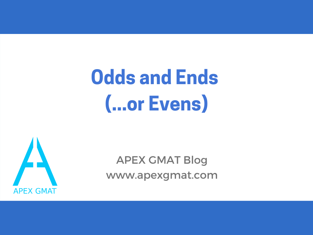 odds and evens on the gmat